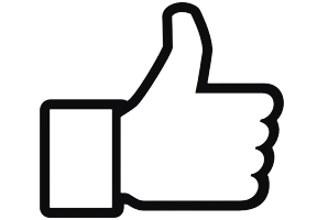 Social Media ROC thumbs up