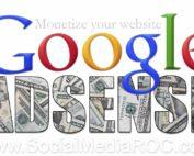 Website monetization with Google Adsense